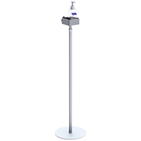 Pump Dispenser Telescopic Height Round Base